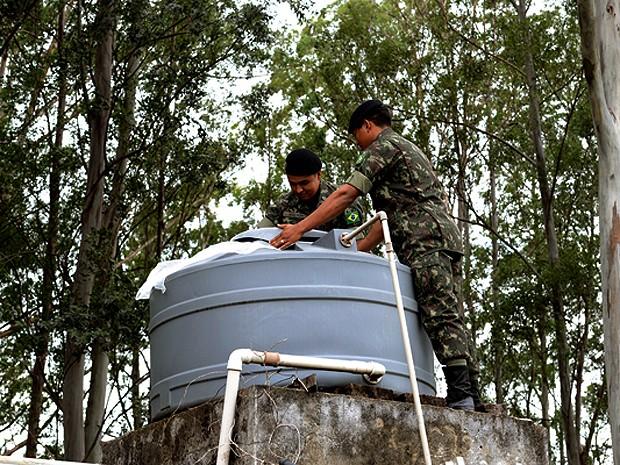 Exército inicia força-tarefa no combate à epidemia de dengue em Campinas (SP) (Foto: Carlos Bassan/Prefeitura de Campinas)