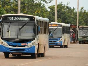 Pelo menos 16 ônibus extras serão disponibilizados nos quatro dias de folia, em Palmas (Foto: Valério Zelaya/ Prefeitura de Palmas)