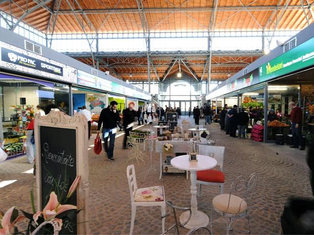 O Mercado Agrícola de Montevidéu, que foi recuperado (Foto: Miguel Rojo/AFP)