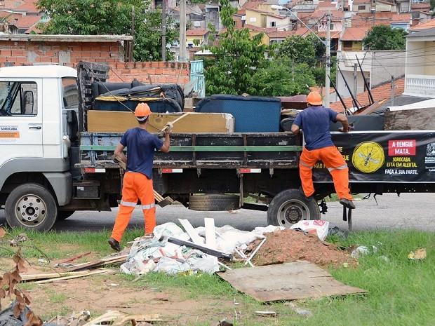 Ação é feita em diferentes pontos de Sorocaba (Foto: Emerson Ferraz/ Divulgação)