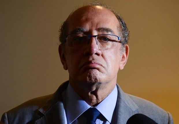 O presidente do Tribunal Superior Eleitoral (TSE) e ministro do STF, Gilmar Mendes (Foto: Rovena Rosa/Agência Brasil)