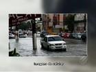Chuva deixa ruas alagadas e trânsito lento nesta quarta-feira, em Belém