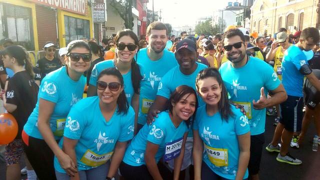 Sidney Batista e equipe do departamento Comercial (Foto: Arquivo Pessoal)