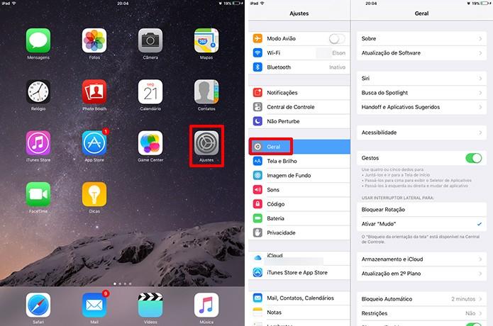 iOS exibe endereço Mac de iPhone ou iPad no menu ajustes (Foto: Reprodução/Elson de Souza) (Foto: iOS exibe endereço Mac de iPhone ou iPad no menu ajustes (Foto: Reprodução/Elson de Souza))