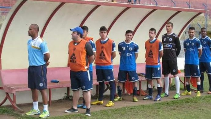 Luiz Gustavo Folego torcedor-massagista Mauaense 14 x 2 Ecus (Foto: Reprodução / Facebook)