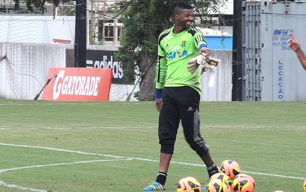 Felipe Treino Flamengo (Foto: Cahê Mota)