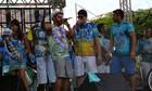 Milhares de foliões brincam no 'Boulevard' (Indiara Bessa/G1 AM)