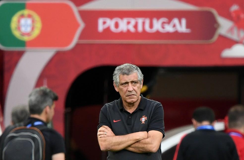 Fernando Santos diz que cansaço deve ficar de lado em jogos eliminatórios (Foto: AFP)