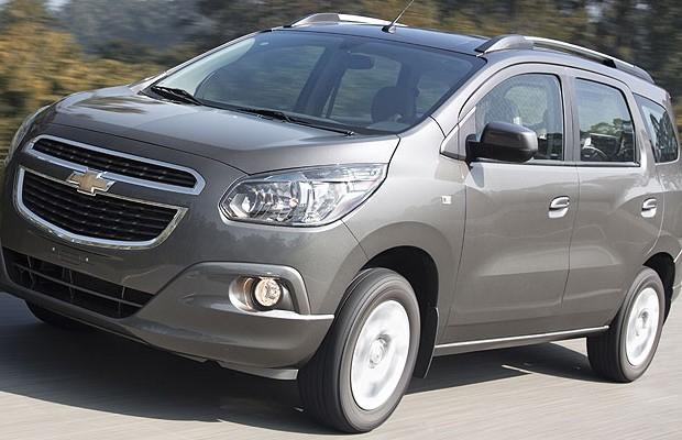 Chevrolet Spin (Foto: Fabio Aro)