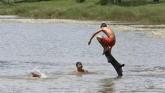 Bombeiros alertam para riscos de afogamento em lagoas