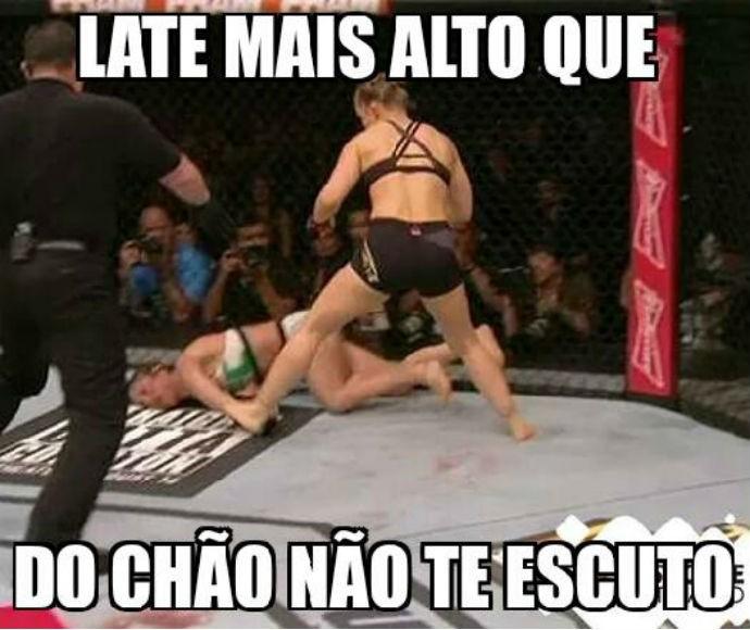 Meme Rounda Rousey x Bethe Correia