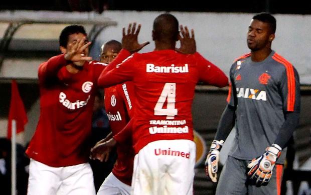 Juan internacional gol flamengo (Foto: Itamar Aguiar / Futura Press)