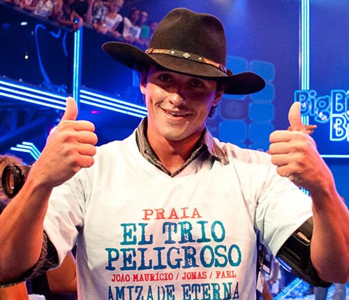 Fael campeão do BBB12 (Foto: BBB/TV Globo)