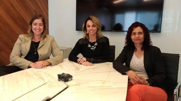 Cynnara, Christiane Taveira e Adriana Ribeiro, BobsJet (Foto: José Abrão/Divulgação)