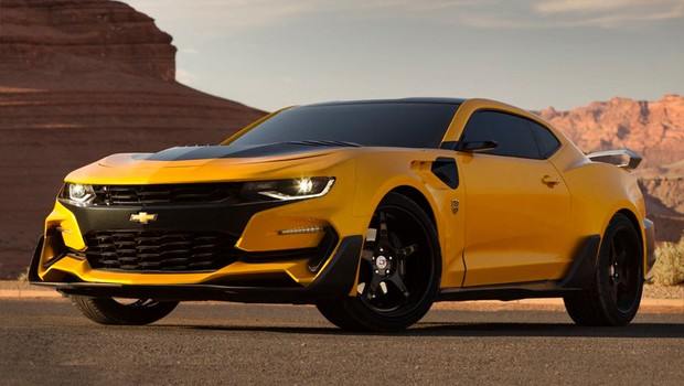 Chevrolet Camaro Bumblebee do filme Transformers: The Last Knight (Foto: General Motors)