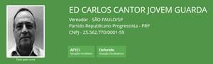 A ficha de Ed Carlos (Foto: Reprodução/TSE)