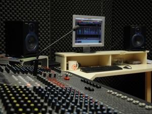 Estúdio de rádio (Foto: Divulgação/Ufscar)