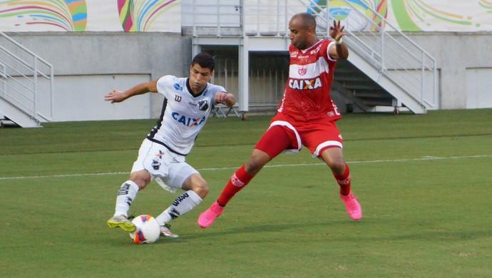 Ednei - ABC x CRB - Arena das Dunas (Foto: Augusto Gomes/GloboEsporte.com)