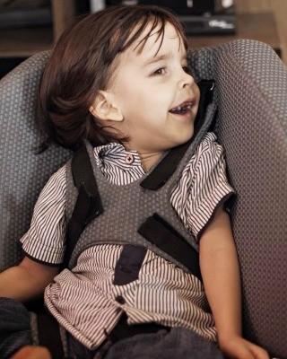 Benjamin Prince, de 3 anos, desenvolveu um problema causado por icterícia, logo nos primeiros dias de vida (Foto: Arquivo da Família)