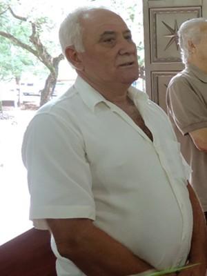 """""""Oportunidade para manter viva a religião e a fé"""", afirma o aposentado, Edson Guerra, de 60 anos (Foto: Carolina Mescoloti/G1)"""