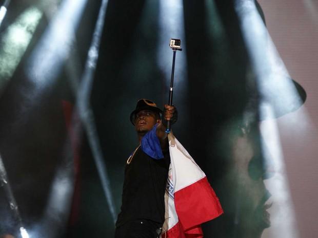 Ne-Yo (Foto: Egi Santana/G1)