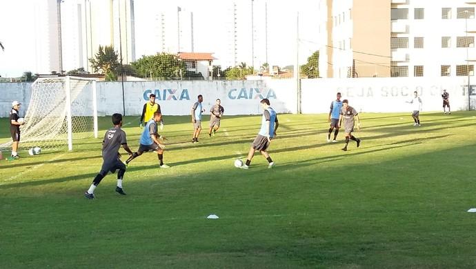 Treino do ABC (Foto: Jocaff Souza/GloboEsporte.com)