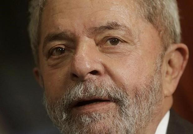Ex-presidente Luiz Inácio Lula da Silva, no Rio de Janeiro (Foto: Ricardo Moraes/Reuters)