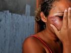 Suspeito de espancar mulher é preso (Fernando Madeira/ A Gazeta)