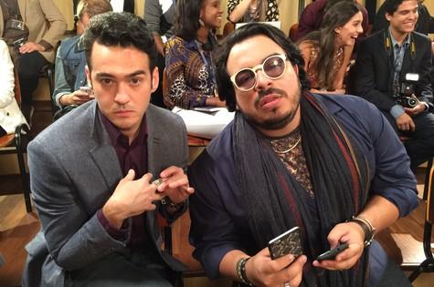 Marcos Veras e Luis Lobianco (Foto: Fabio Porchat)