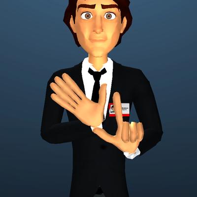 O aplicativo traduz do português para Libras por meio de um avatar (Foto: Divulgação)