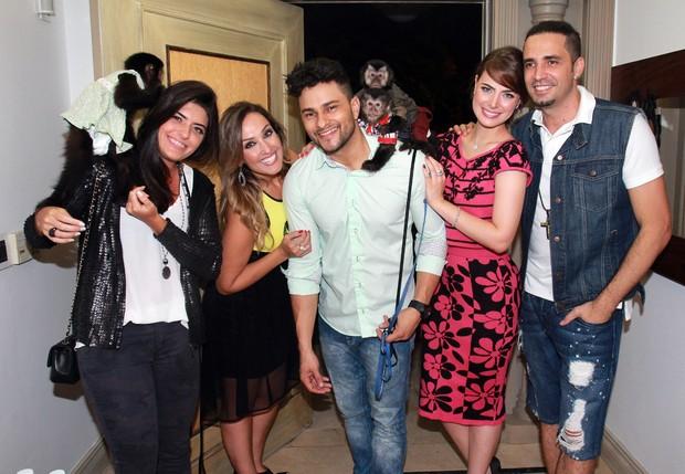 Rayanne Morais e convidados da festa de Twelves (Foto: Celso Tavares / EGO)