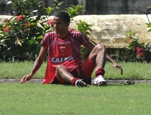 Wellington Saci  CRB (Foto: Leonardo Freire/GloboEsporte.com)
