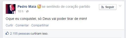Mc pedrinho (Foto: Facebook / Reprodução)