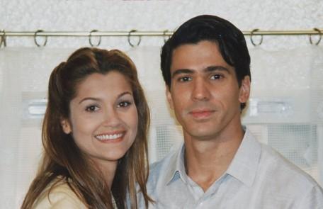 Em 1998, Flávia Alessandra estrelou 'Meu bem querer' com Leonardo Brício TV Globo