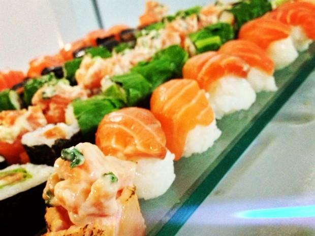 Tamires sushi 2 (Foto: Divulgação / Arquivo Pessoal)