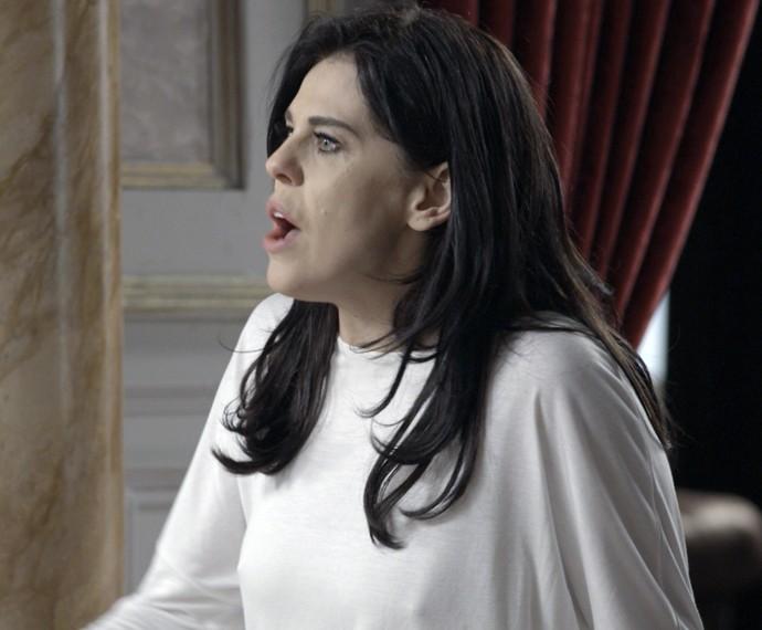 Será que Nelita vai acreditar na filha? (Foto: TV Globo)