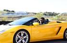 Brian e seu supercarro (Foto: Aline Kras/TV Globo)