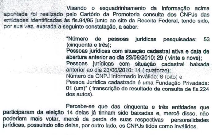 MP da Paraíba investiga denúncia de irregularidades nas eleições da FPF