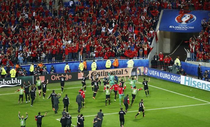 Albânia Romênia Eurocopa (Foto: Reuters)