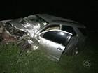 Acidente envolvendo dois carros deixa mortos no Sertão da Paraíba