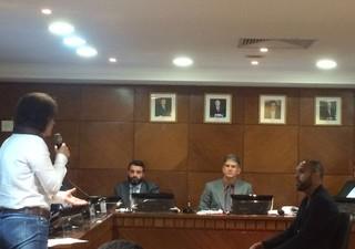 Alecsandro Palmeiras julgamento doping (Foto: Rodrigo Faber)