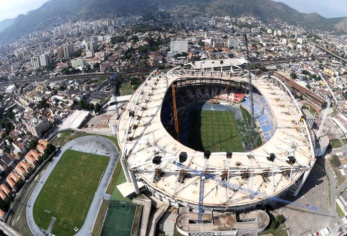 instalações Engenhão Rio 2016 (Foto: André Durão)