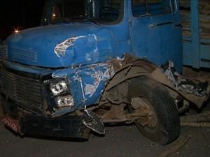 Trânsito estava parado no momento do acidente. (Foto: Reprodução/TV Asa Branca)