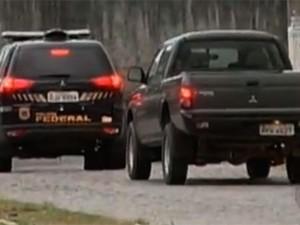 Operação Hecatombe, da Polícia Federal, cumpre 21 mandados de prisão na Grande Natal (Foto: Reprodução/Inter TV Cabugi)