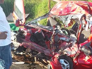 Acidente em rodovia federal no Maranhão (Foto: Divulgação / PRF)