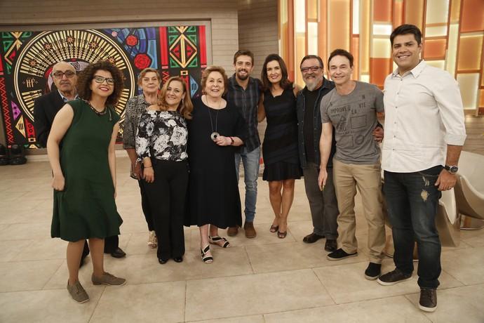 Todos os convidados desta segunda-feira, 29/8 (Foto: Raphael Dias/Gshow)