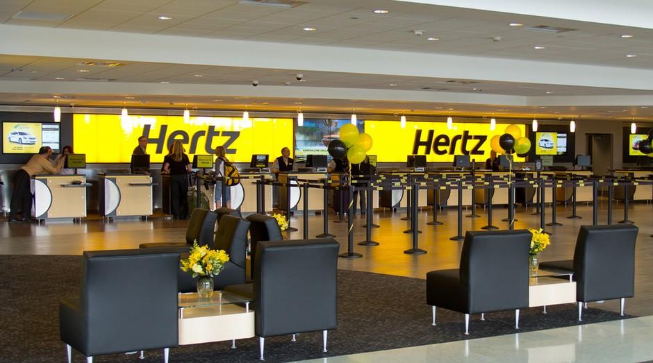 Hertz sofre com prejuízos. Empresa comprou mais carros do que precisava (Foto: Divulgação)