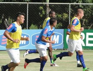Cruzeiro treino (Foto: Tayrane Corrêa)