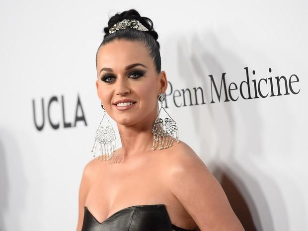 Katy Perry em evento beneficente em Los Angeles, nos Estados Unidos (Foto: Angela Weiss/ Getty Images/ AFP)
