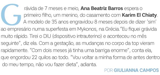 Ana Beatriz Barros abre2 (Foto:  )